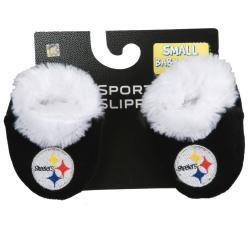 Pittsburgh Steelers Baby Bootie Slippers 3-6 Mos