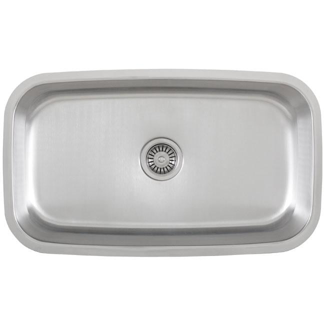Fisher Stainless Steel 18-gauge Undermount Kitchen Sink