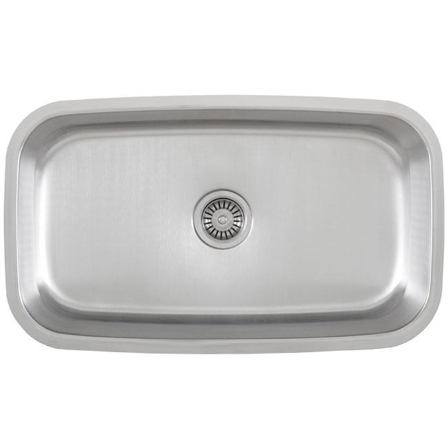 Fisher Stainless Steel 18-gauge Undermount Kitchen Sink - Thumbnail 0