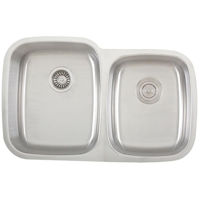 Fisher 18-gauge Stainless Steel Undermount Kitchen Sink