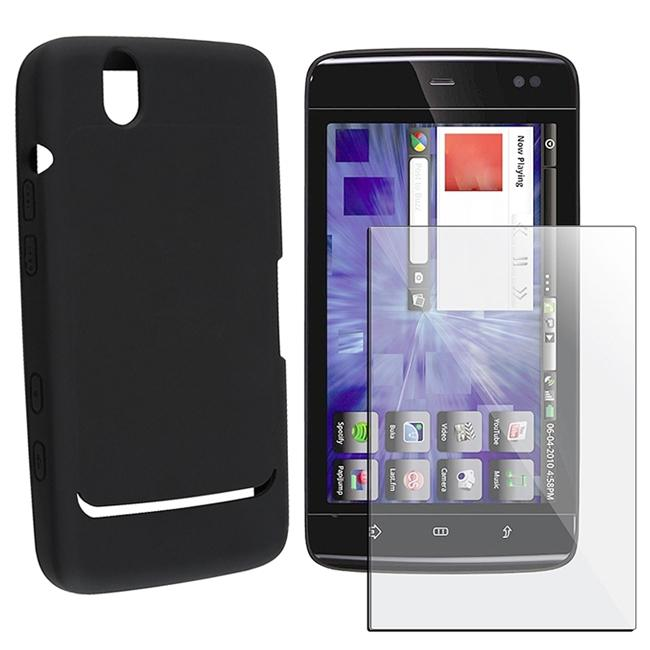 Black Silicone Case/ Screen Protector for Dell Streak 7
