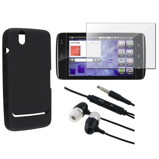 3-piece Case/ Screen Protector/ 3.5mm Headset for Dell Streak