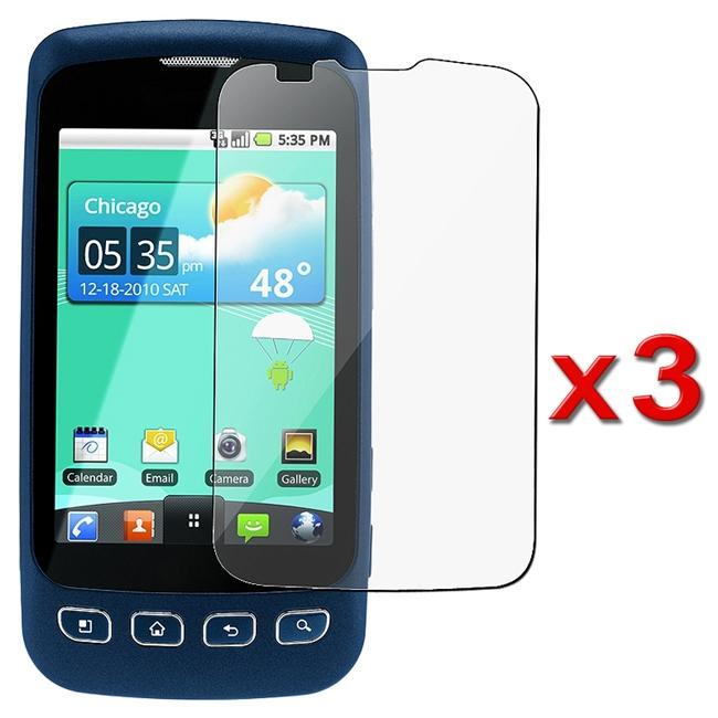 Screen Protector for LG LS670 Optimus S (Pack of 3)