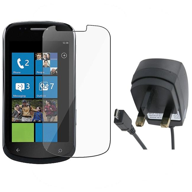 INSTEN UK Travel Charger/ Screen Protector for Samsung i917 Focus