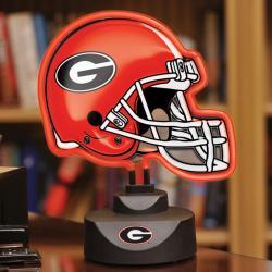 Georgia Bulldogs Neon Helmet Lamp - Thumbnail 0