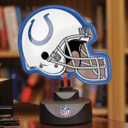Indianapolis Colts Neon Helmet Lamp - Thumbnail 0