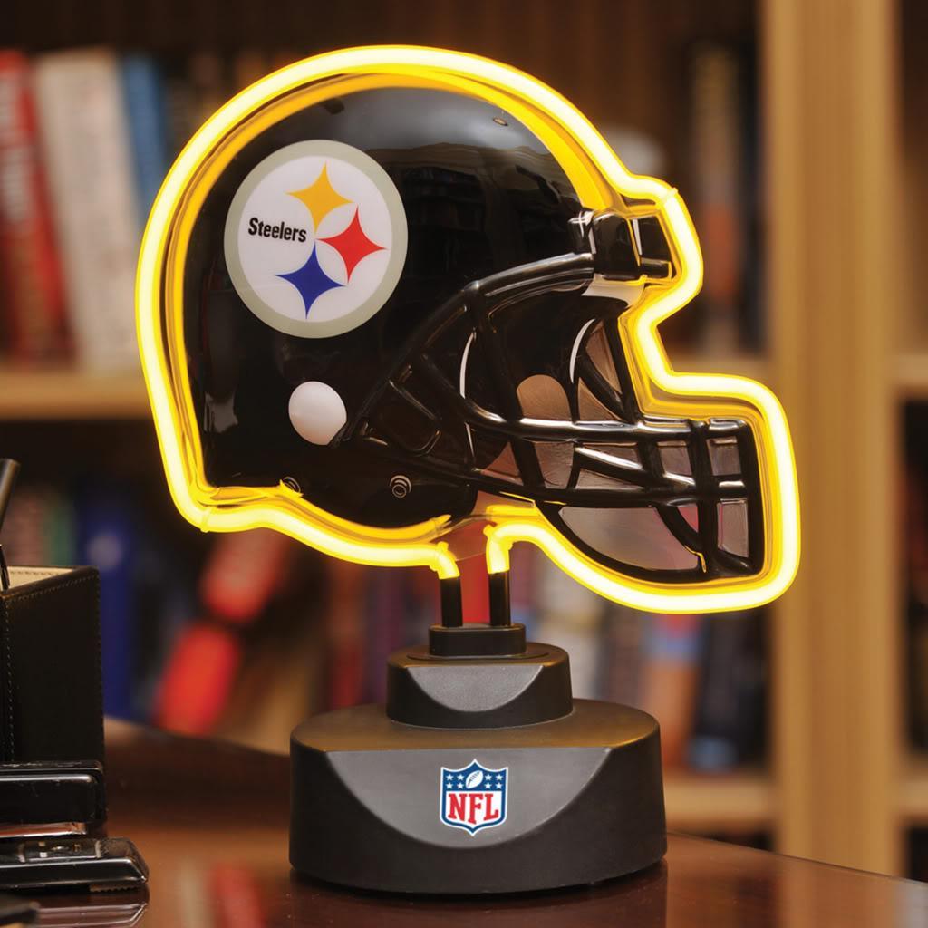 Pittsburgh Steelers Neon Helmet Lamp