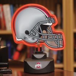 Ohio State Buckeyes Neon Helmet Lamp - Thumbnail 1