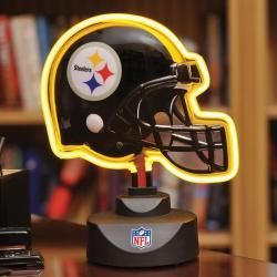 Pittsburgh Steelers Neon Helmet Lamp - Thumbnail 2