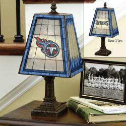 Tennessee Titans 14-inch Art Glass Lamp - Thumbnail 0