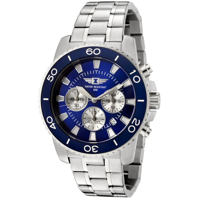 I by Invicta Men's Stainless Steel Chronograph Watch