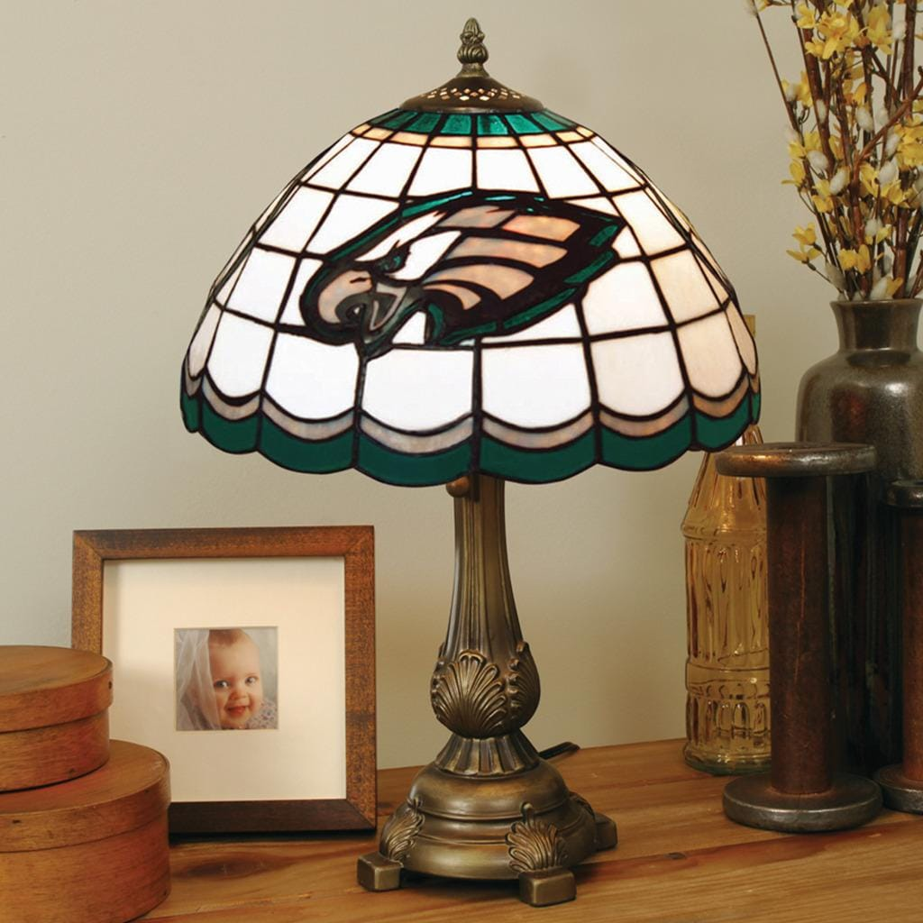 Tiffany Style Philadelphia Eagles Lamp Free Shipping