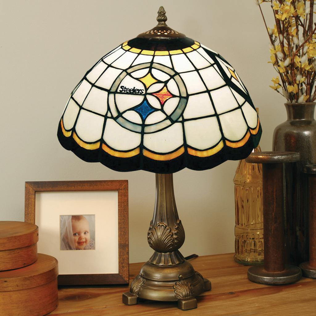 08218041b Shop Tiffany-style Pittsburgh Steelers Lamp - Free Shipping Today ...