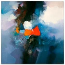Zavaleta 'Abstract V' Medium Canvas Art