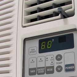 LG 7,000-BTU Heat and Cool Window Air Conditioner (Refurbished)