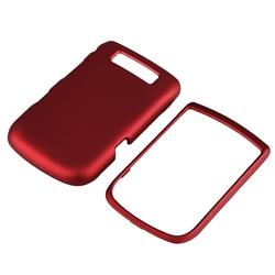 Wine Red Rubber Case/ Screen Protector for BlackBerry Torch 9800 - Thumbnail 2