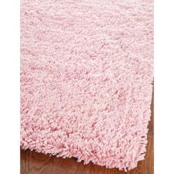 Safavieh Classic Ultra Handmade Pink Shag Rug (2' x 3')