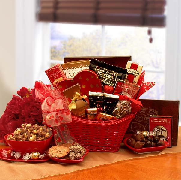 Chocolate Extravaganza Valentines Gift Basket - Thumbnail 0