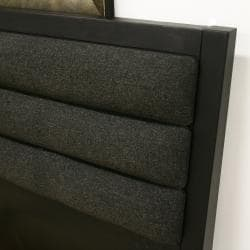 Cellini Modern Black Queen Platform Bed - Thumbnail 2