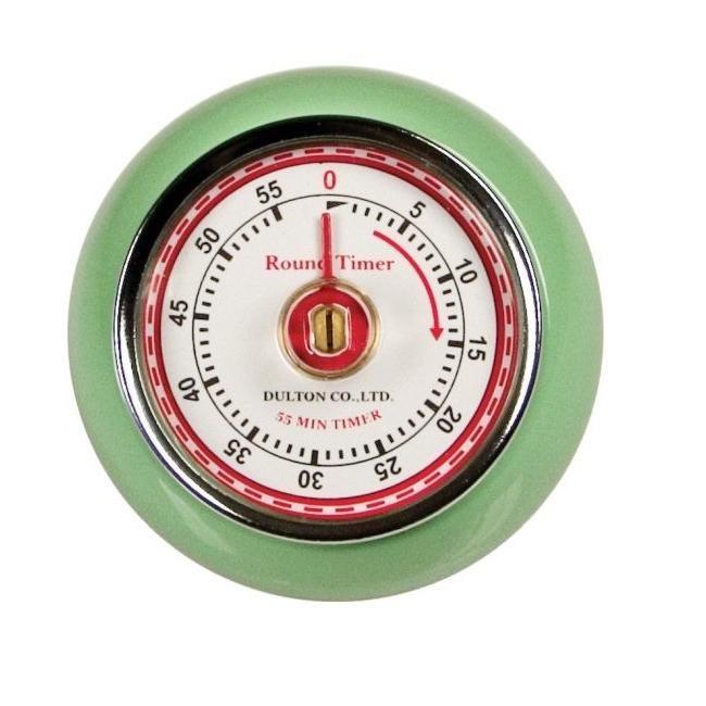 Retro Green Kitchen Timer - Thumbnail 0