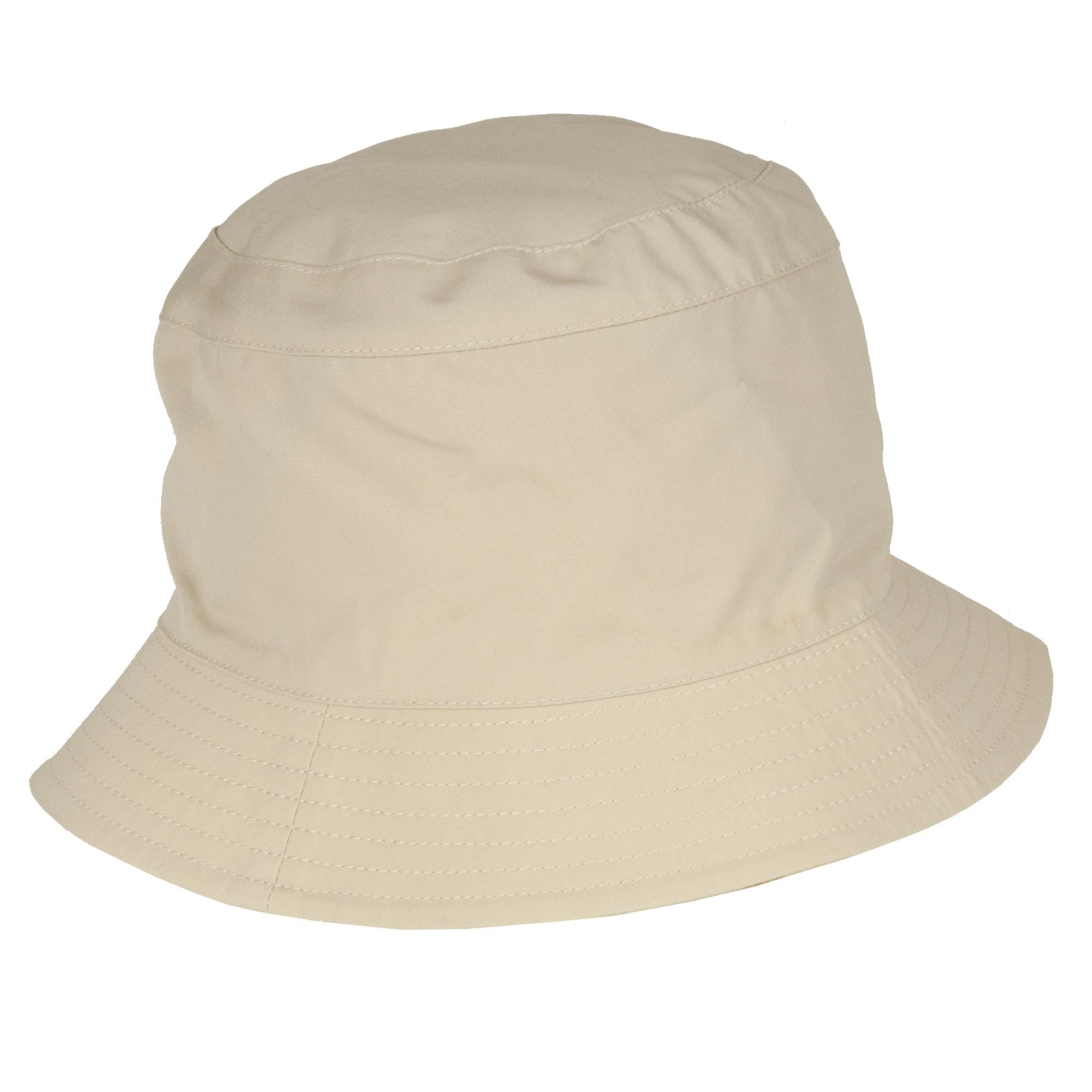 Shop Burberry Cotton Reversible Khaki Bucket Hat - Free Shipping Today -  Overstock - 5651056 3307c41aa05
