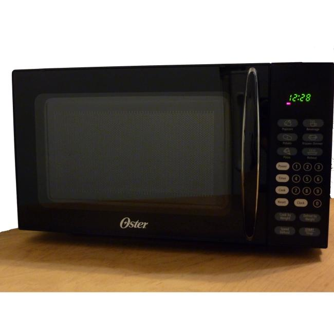 Oster 7-cubic-foot Black Countertop Microwave Oven - Free Shipping ...