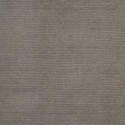 Hand-crafted Solid Grey Casual Ridges Wool Rug (9'9 Square) - Thumbnail 1