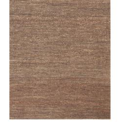 Hand-woven Haneul Brown Hemp Rug (8' x 10') - Thumbnail 2