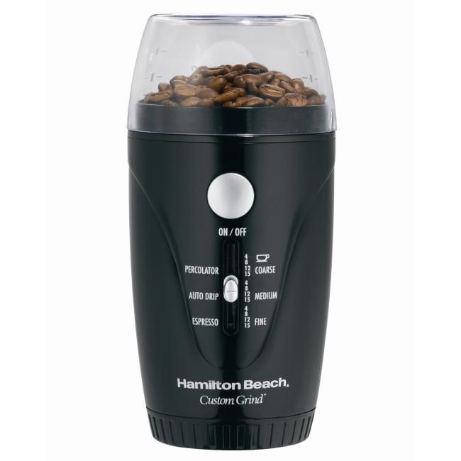 Hamilton Beach 80344 Custom Grind Hands-free Coffee Grinder