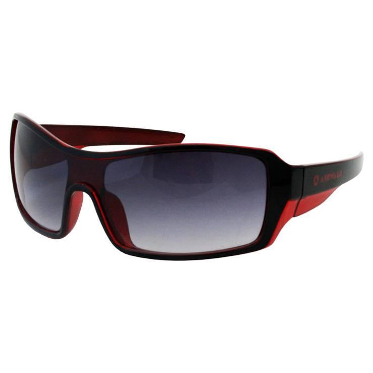 Airwalk Men's 'Freestyle' Red and Black Wrap Sunglasses