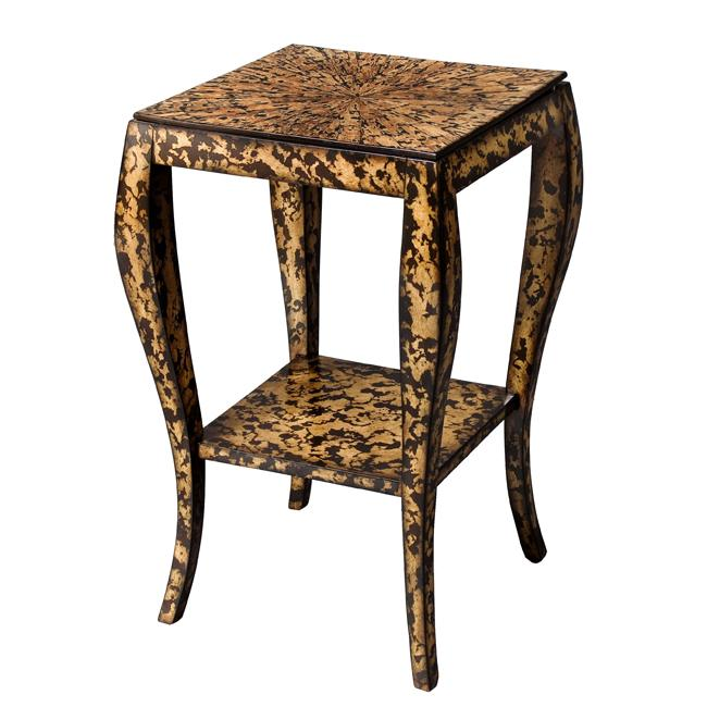 Leopard Print Accent Table Free Shipping Today