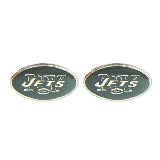 New York Jets Post Stud Logo Earring Set