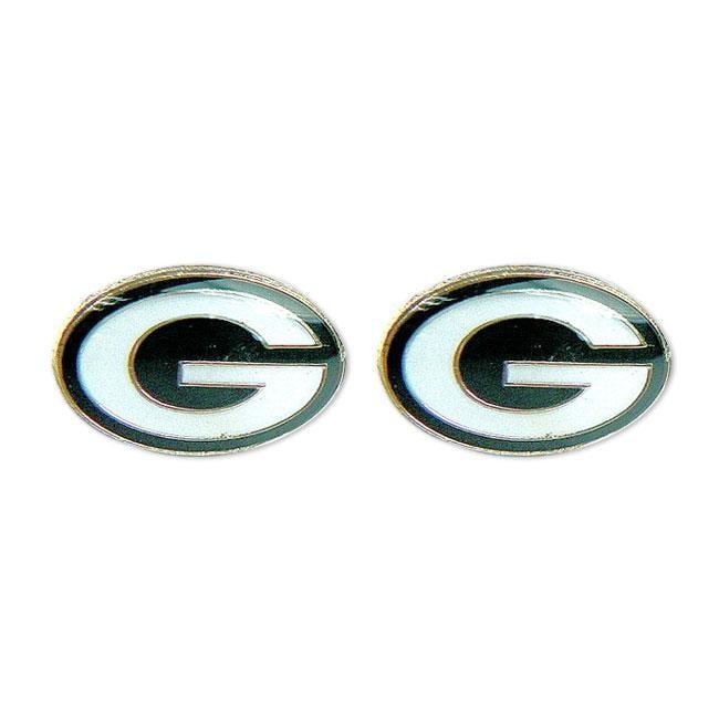 Green Bay Packers Post Stud Logo Earring Set