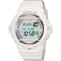 "Casio  ""Baby-G"" White Resin Women's Sports Watch"