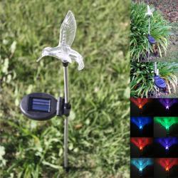 Solar LED Hummingbird Garden Stake