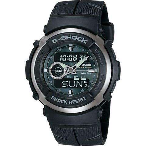 Casio Men's G-Shock Black Street Rider Analog/ Digital Watch