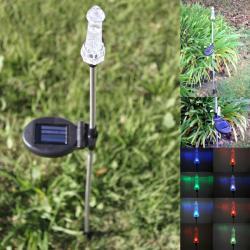 Solar LED Lighthouse Garden Stake