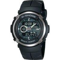 Casio Men's G-Shock Black Street Rider Analog/ Digital Watch