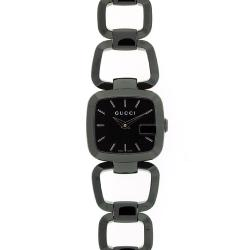 Gucci Women's 125 Stainless Steel Black Dial Watch|https://ak1.ostkcdn.com/images/products/73/871/P13417964.jpg?impolicy=medium
