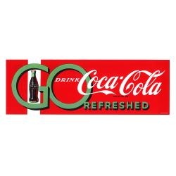'Go Drink Coke' Stretched Canvas Print