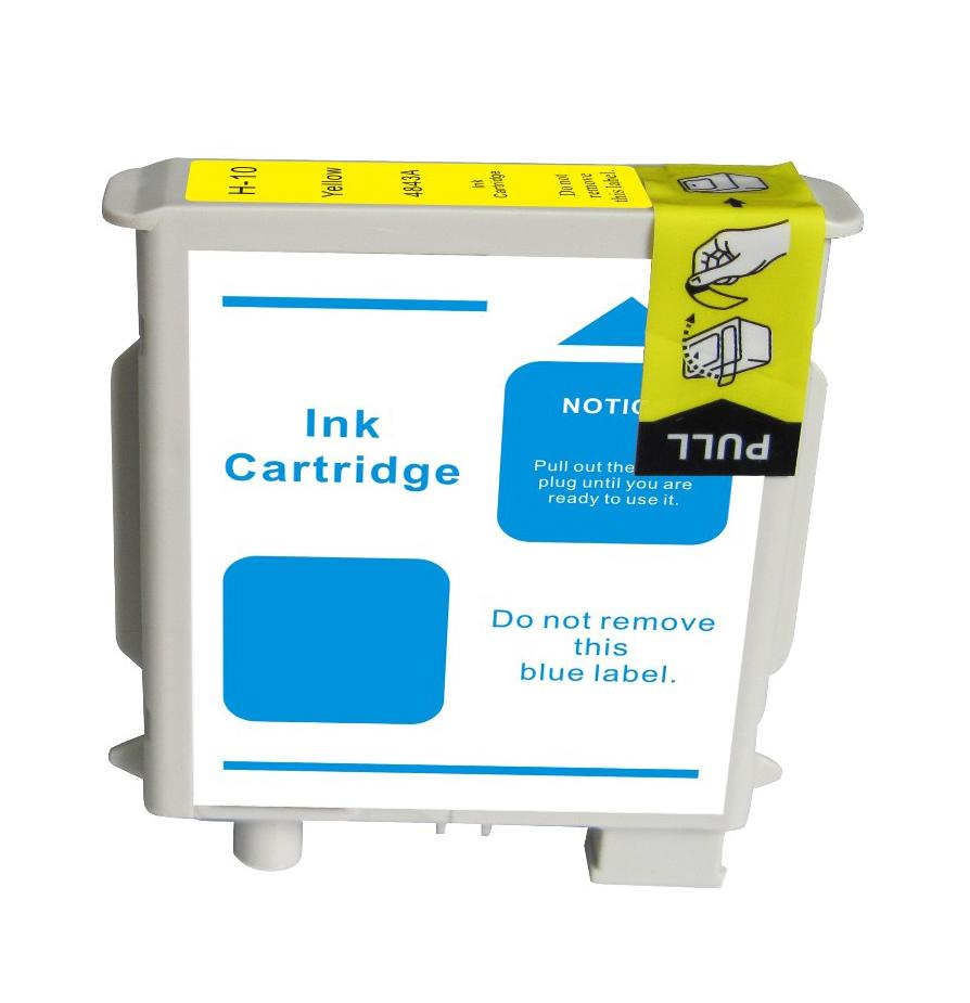 HP 10 Compatible C4842A Yellow Ink Cartridge
