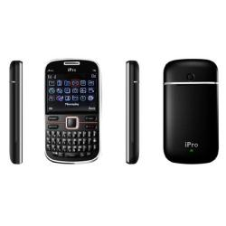 SVP IPro I6 Dual SIM Unlocked Black Cell Phone with Micro 8GB Card