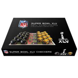 Super Bowl XLV Dueling Checker Set - Thumbnail 1