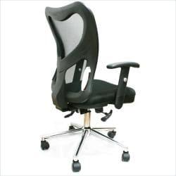 Techni Mobili Mesh Fully-Adjustable Office Chair - Thumbnail 1