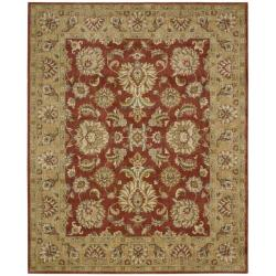 Nourison Antiquities Red Floral Rug (5'3 x 7'5)