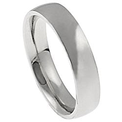 Stainless Steel Comfort Fit Band (5 mm) - Thumbnail 1