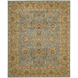 Nourison Antiquities Blue Floral Rug (5'3 x 7'5)