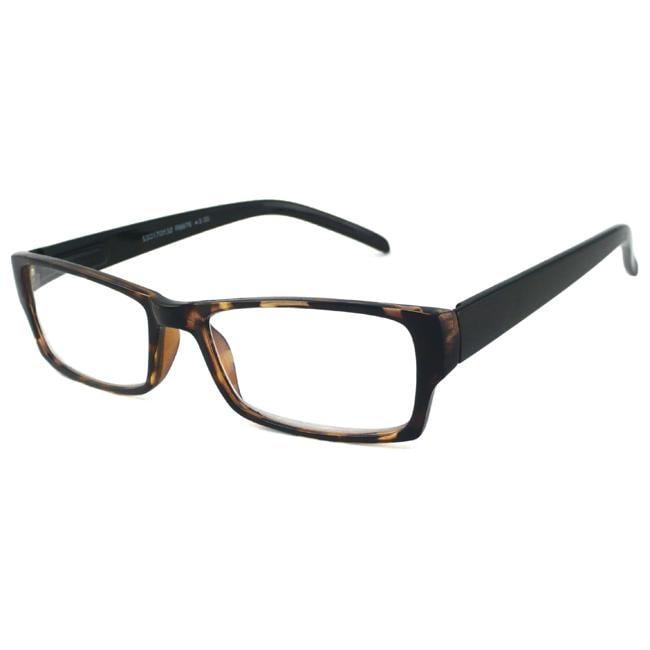 Urban Eyes Unisex Rectangular Reading Glasses