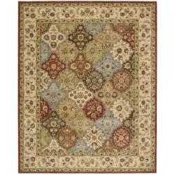 Nourison Antiquities Multicolored Floral Rug (7'9 x 9'9)