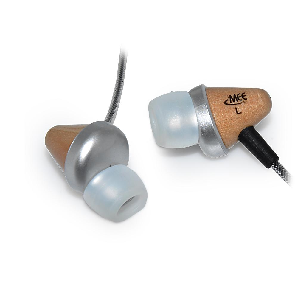 MEElectronics CW31 Clarity Series Wooden In-ear Headphones - Thumbnail 0